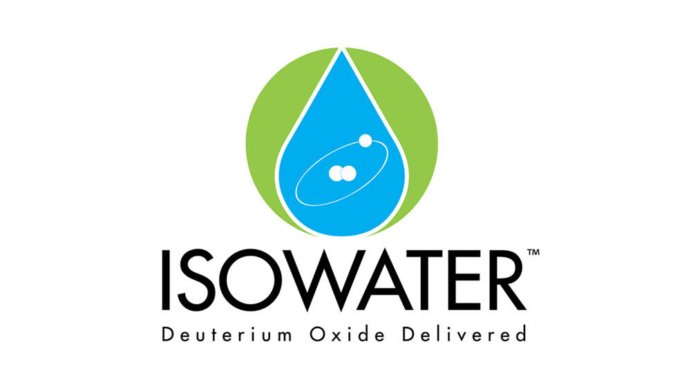 Logo for Isowater Deuterium Oxide Delivered