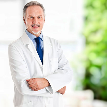 A scientist posing for a photo about to discuss the possible applications of deuterium oxide within the Diagnostic industry